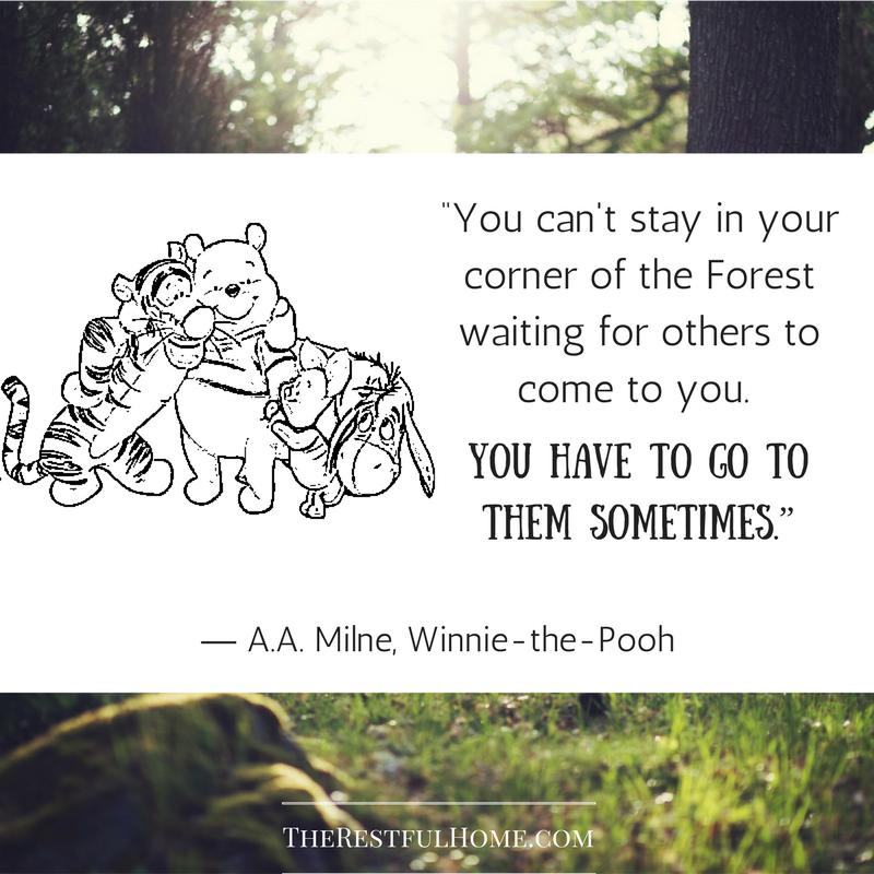 Pooh on friendship