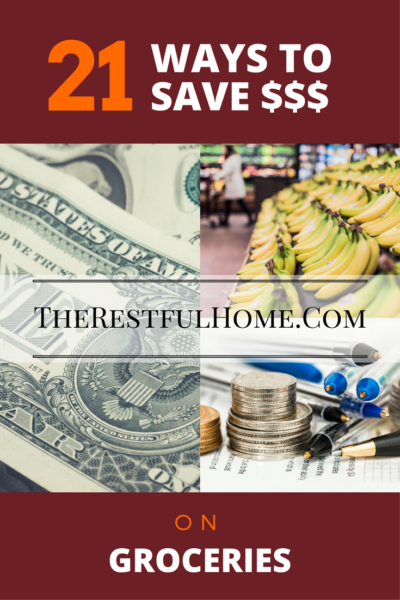 21 ways to save money on groceries and household supplies