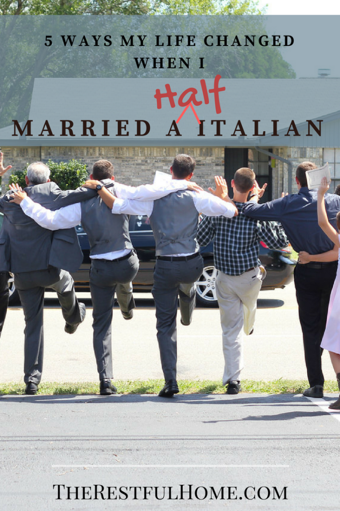 ways my life changed when i married an italian
