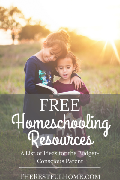 free homeschooling resources a list of ideas for the budget conscious parent