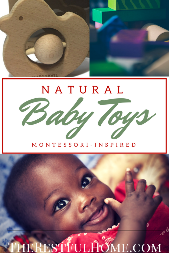 natural baby toys montessori inspired
