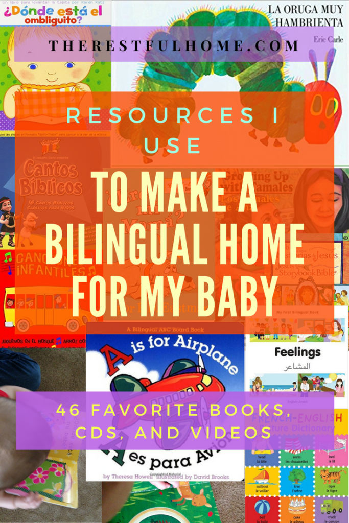 bilingual home for my baby