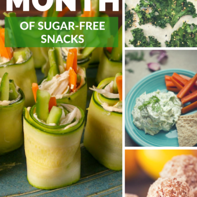 One Month of Sugar Free Snacks