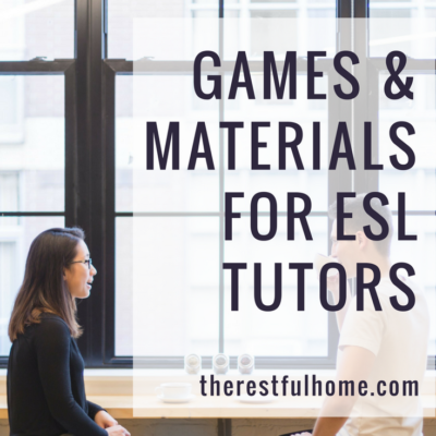 Games & Materials for ESL Tutors