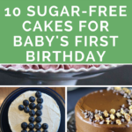 10 Sugar-Free Cakes & Desserts for Baby's First Birthday