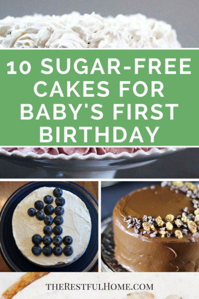 sugar-free cakes and desserts baby's first birthday