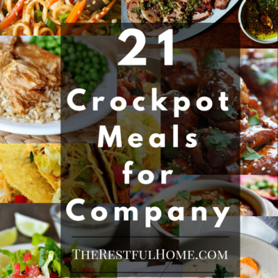21 crockpot meals for company