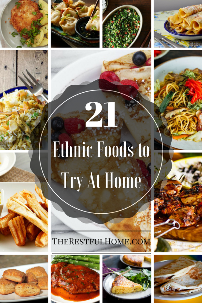 21 ethnic foods to try at home