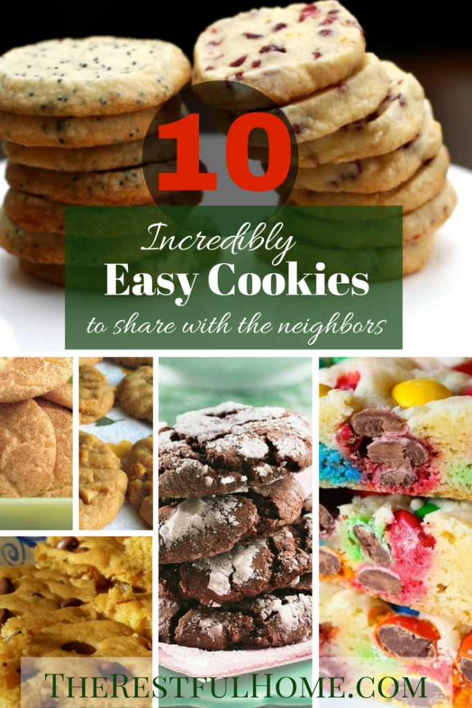 incredibly easy cookies for neighbors