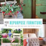 How to Repurpose Worn or Broken Furniture