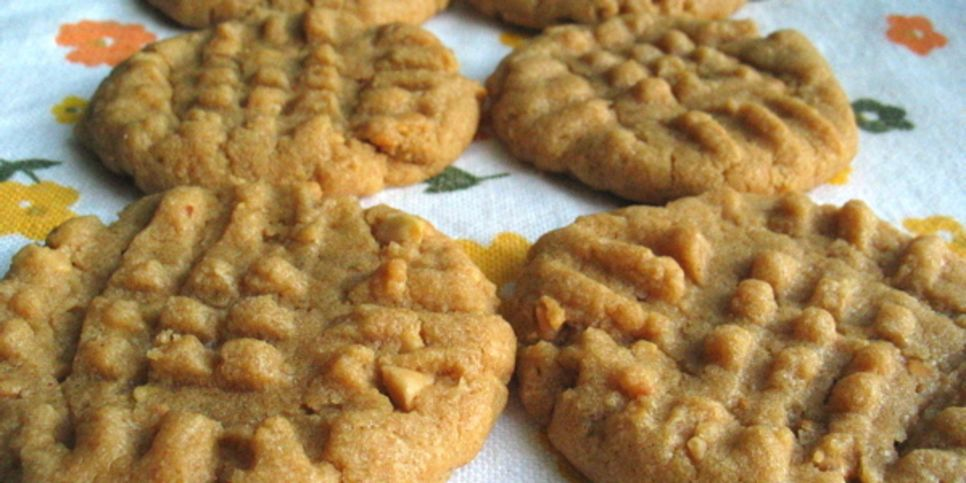 easy cookies peanut butter