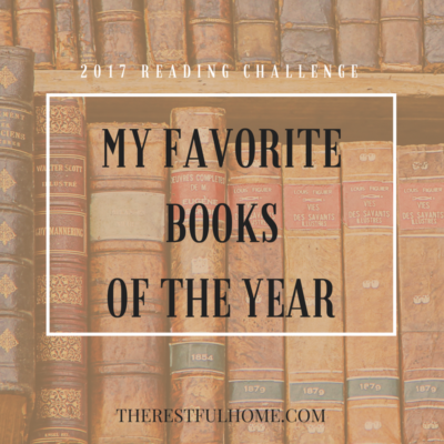 2017 Reading Challenge: My Favorite Books of the Year