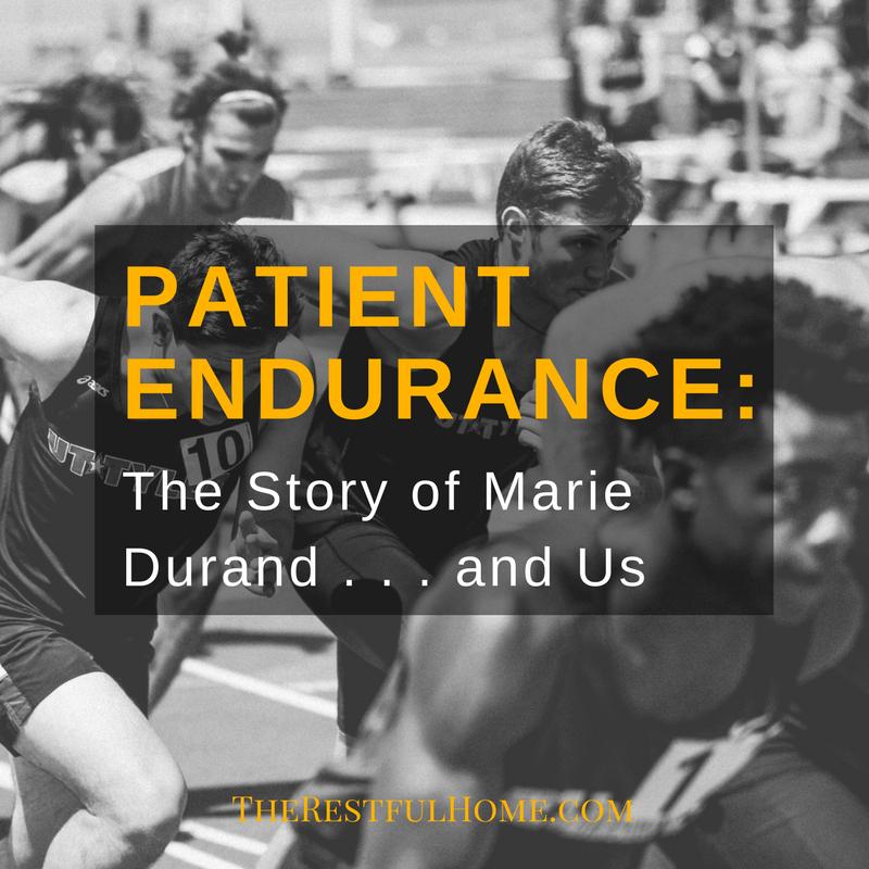 patient endurance marie durand