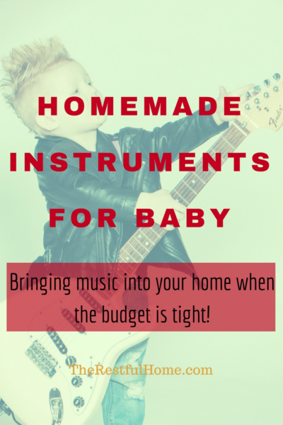 homemade instruments baby