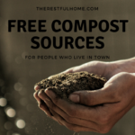 Free Compost Sources for People Who Live in Town