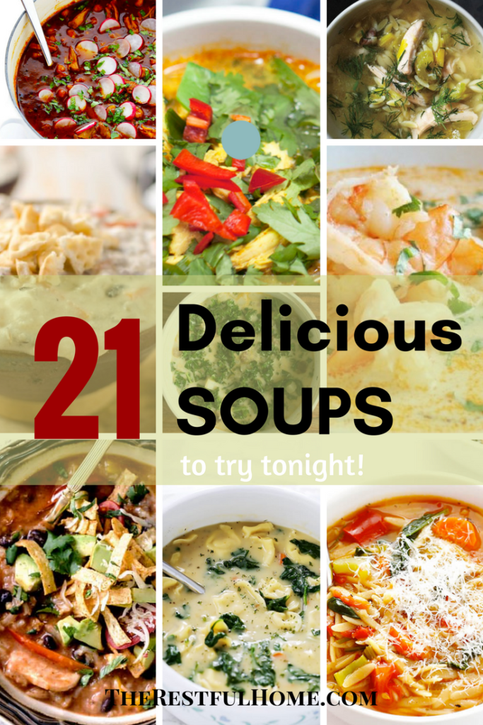 21 Delicious soups to try tonight