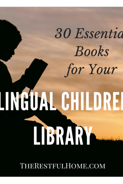essential books for bilingual children's library