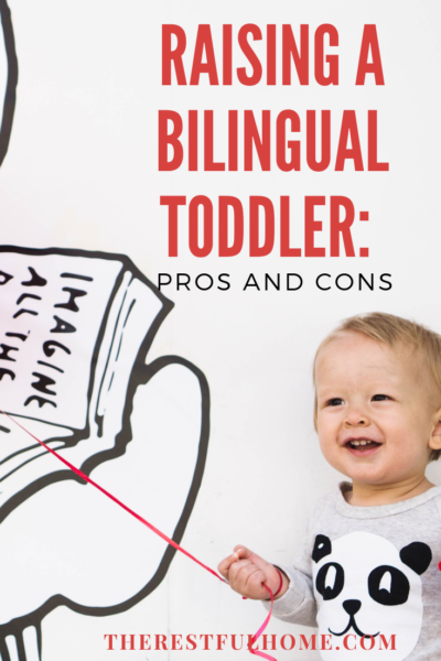 raising a bilingual toddler in a monolingual environment