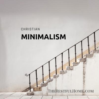 Christian Minimalism: Buzzword Meets Tradition