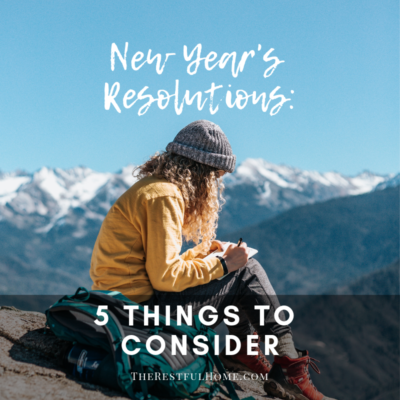 New Year's Resolutions: 5 Things to Consider