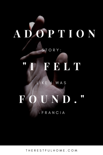 adoption story interview found
