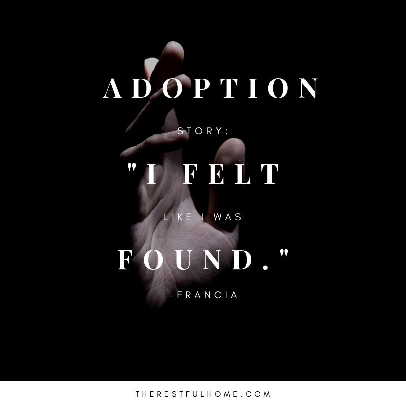 adoption story interview found