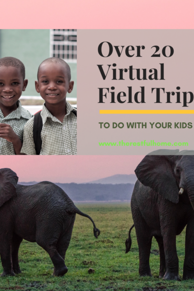 virtual field trips to do with your kids
