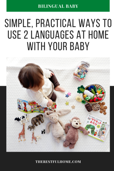 bilingual baby two languages at home